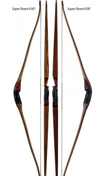 """Arco tradizionale SUPER SHREW 60"""" SHREW BOWS - BODNIK BOWS - Tiro con l'arco di Ulisse - ULISSE TIRO CON L'ARCO -"""