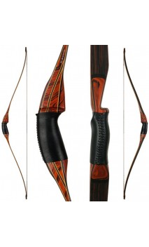 "Arc longbow CLASSIC HUNTER 2 de 54"" SHREW BOWS - BODNIK BOWS - ULYSSE ARCHERIE"
