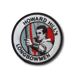 Vintage HOWARD HILL ARCHERY Embroidered Badge or Embroidered Patch - Ulysses archery - equipment - accessorie -