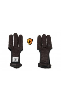 Shooting glove FULL PALM DEERSKIN BUCK TRAIL ARCHERY