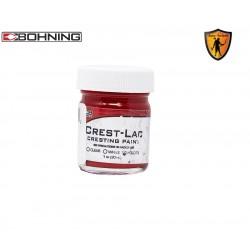 Peinture Crest Lac Paint Rouge BOHNING ARCHERY - ULYSSE ARCHERIE