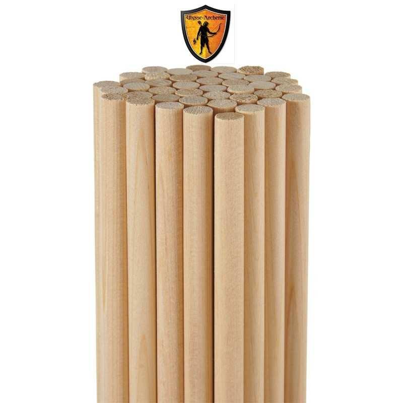 Eje de flecha de madera de cedro de primera calidad ROSE CITY - ULYSSE ARCHERIE