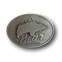 Hebilla de cinturón retro Silver BEAR ARCHERY - ULYSSE ARCHERIE