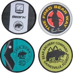 Lot de 4 patchs BEAR ARCHERY - ULYSSE ARCHERIE