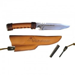 WILDSTEER Bogenmesser gerade Messer - ULYSSE ARCHERIE