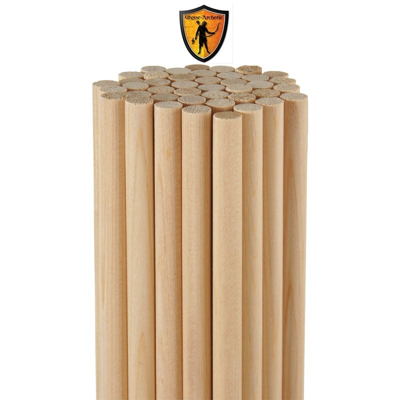 Premium Cedar Wood Arrow Shaft 11/32 ROSE CITY ARCHERY - ULYSSE ARCHERIE
