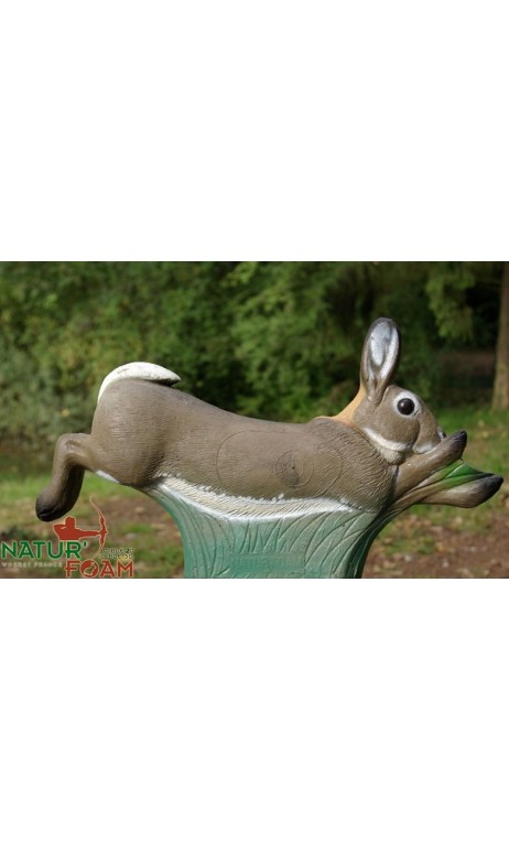 LAPIN A LA COURSE NATUR FOAM - Ulysses archery - equipment - accessorie -