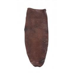 Grip queue de Castor (BEAVER) MARRON pour arcs Recurve ou Longbow 3RIVERS ARCHERY - ULYSSE ARCHERIE