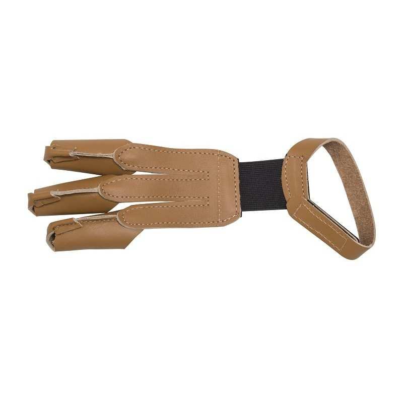 Single-stitched leather shooting glove 3RIVERS ARCHERY - ULYSSE ARCHERIE
