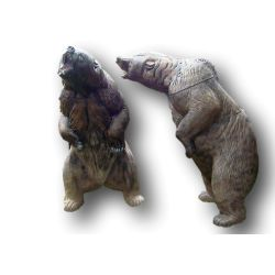 Bersaglio cattivo orso bruno 3D NATUR FOAM - ULYSSE ARCHERIE