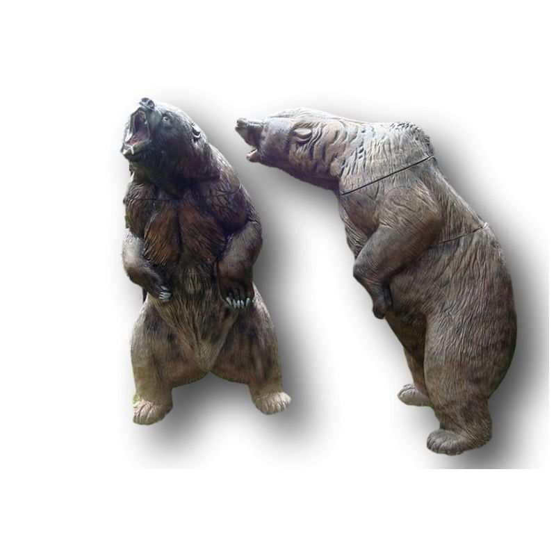 Objetivo 3D travieso oso pardo NATUR FOAM - ULYSSE ARCHERIE