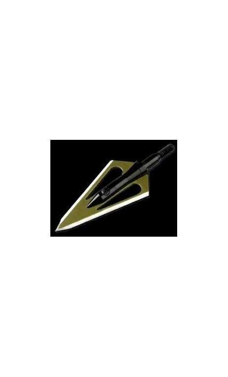 Lame de chasse Stinger Stainles 125 grains MAGNUS - ULYSSE ARCHERIE