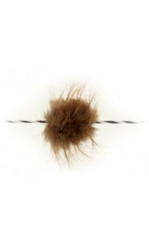 Silenciador de cuerda con lazo de piel de castor BEARPAW PRODUCTS