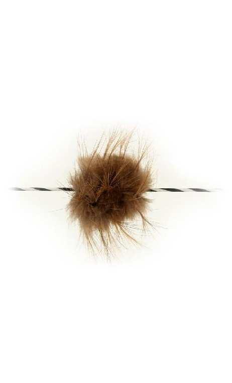 Silenziatore per corde in pelliccia di castoro BEARPAW PRODUCTS - Tiro con l'arco di Ulisse - ULISSE TIRO CON L'ARCO -