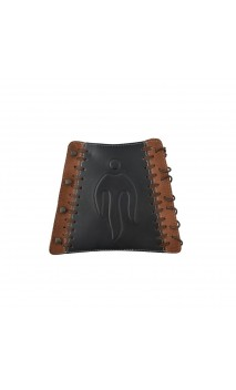 Dutchman Traditional Leather Armguard BEARPAW - Ulysses archery - equipment - accessorie -