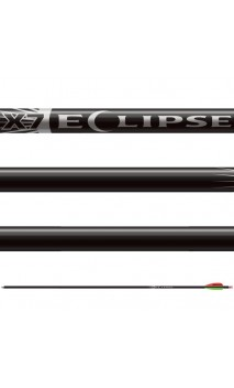 Tube X7 Eclipse noir EASTON ARCHERY  - ULYSSE ARCHERIE