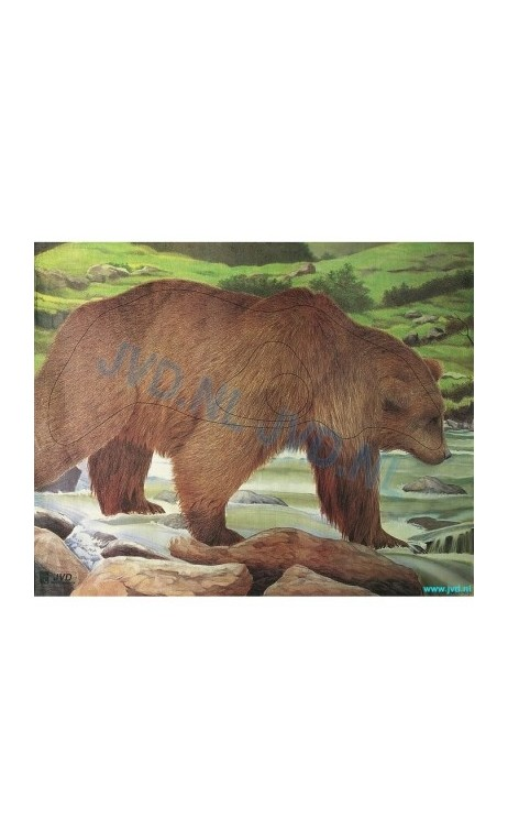 OURS BRUN (JVD Animal Face Bear ) - ULYSSE ARCHERIE