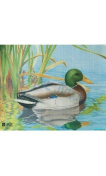 Duck target reinforced paper JVD Distribution