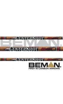 tubo mucho Beman CenterShot caza de carbono